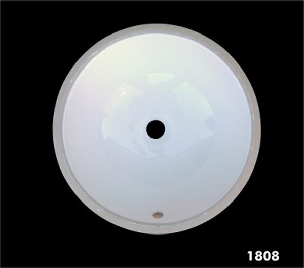 unterbaubecken waschbecken rund keramik innema 40 x 40cm ebay. Black Bedroom Furniture Sets. Home Design Ideas